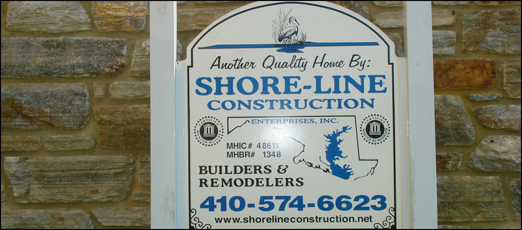 shore-line construction, custom home builderm, middle river maryland md, baltimore county maryland md